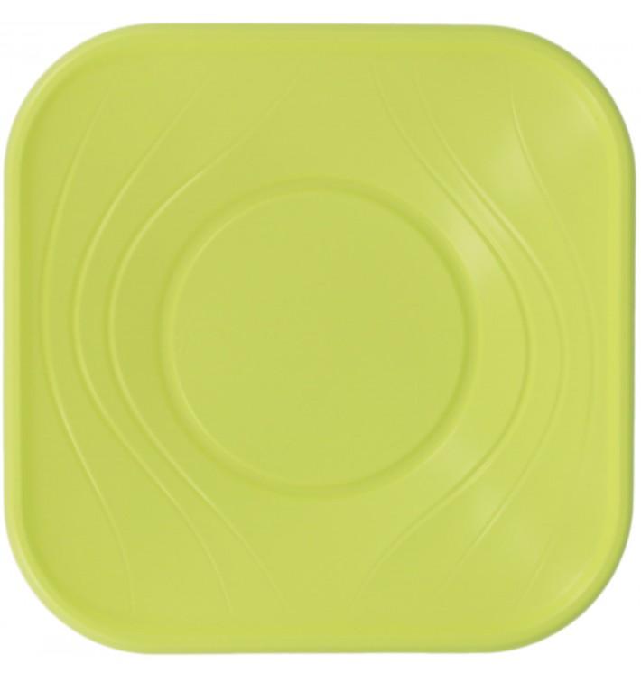 """Plastikschale PP """"X-Table"""" Lime 18x18cm (8 Stück)"""
