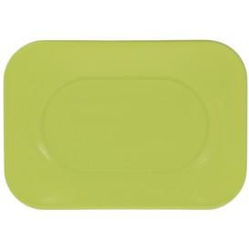 Plastiktablett Lime PP 330x230mm (2 Stück)