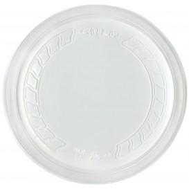 """Plastikdeckel PP """"Deli"""" Lichtdurchlässig Ø120mm (50 Stück)"""
