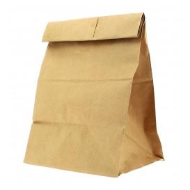 Papiertüten ohne Henkel Kraft braun 18+11x34cm (25 Stück)
