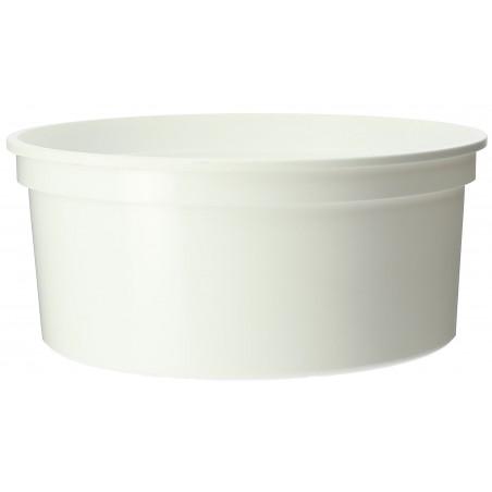 Verpackungsbecher aus Plastik 350ml  Ø11,5cm (500 Stück)