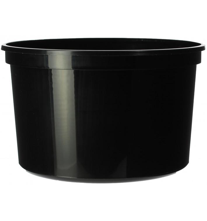 Verpackungsbecher aus Plastik 500ml  Ø11,5cm (50 Stück)