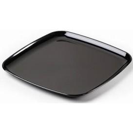 Plastikplatte extra hart schwarz 35x35cm (5 Stück)