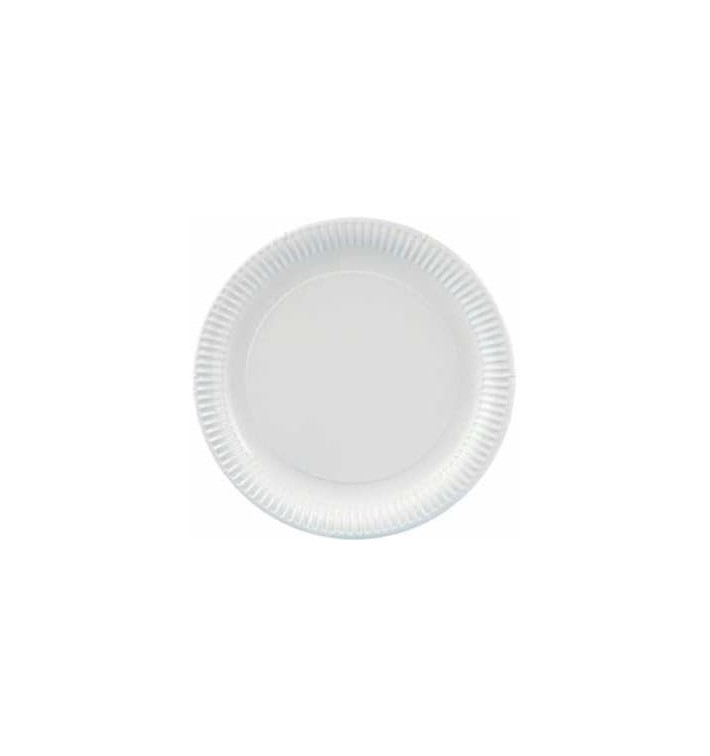 Pappteller Rund weiß 270mm (300 Stück)