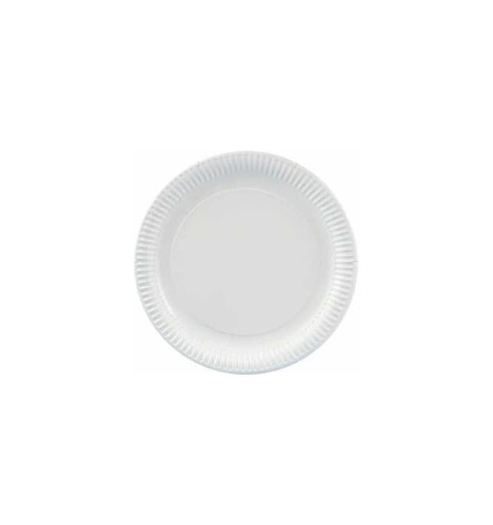 Pappteller Rund weiß 380mm (100 Stück)