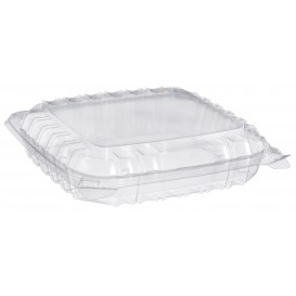 "Plastikschale Klappdeckel OPS 3 C. ""Clear Seal"" 335ml (125 Stück)"