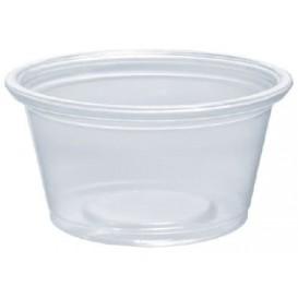 Dressingbecher Plastik PP für Soβen 25ml Ø48mm (2500 Stück)