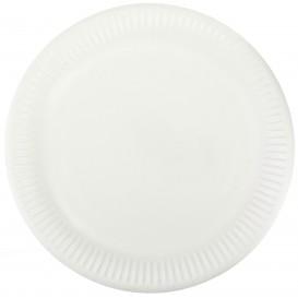 Papierteller weiß Ø23cm (1000 Stück)