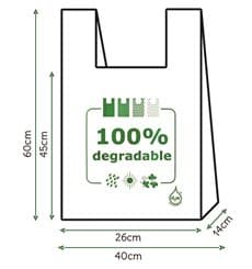 Hemdchenbeutel 100% biologisch abbaubar 40x60cm (200 Einh.)