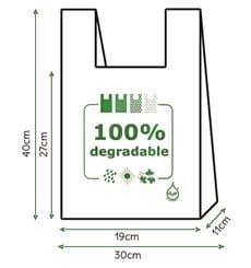Hemdchenbeutel 100% biologisch abbaubar 30x40cm (200 Einh.)