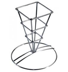 Pommestütenhalter aus Stahl 64x122mm (1 Stück)