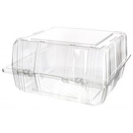 Klappbox PET für Gebäck 18x18x10cm (20 Stück)