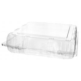 Klappbox PET für Gebäck 22x22x6cm (220 Stück)