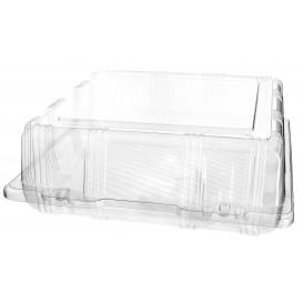 Klappbox PET für Gebäck 22x22x8cm (20 Stück)