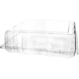 Klappbox PET für Gebäck 25x25x8cm (220 Stück)