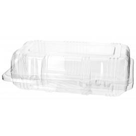 Klappbox PET für Gebäck 18x9,5x6cm (20 Stück)