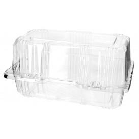 Klappbox PET für Gebäck 18x9,5x10cm (20 Stück)