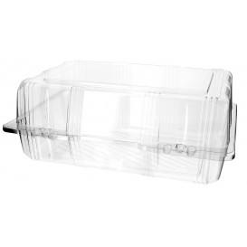 Klappbox PET für Gebäck 25x17x10cm (20 Stück)