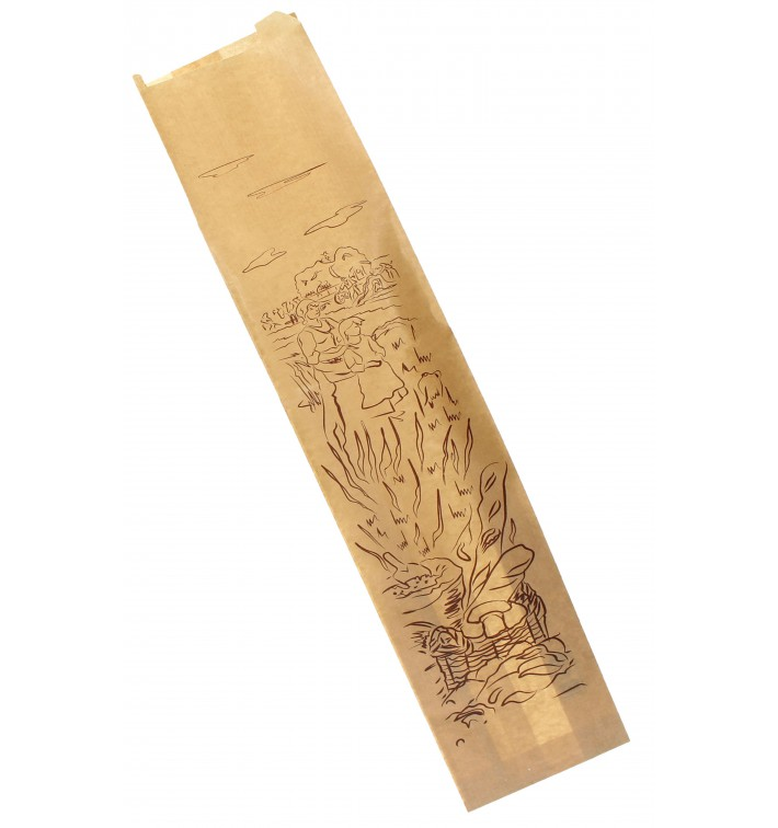 "Papiertüten Kraft ""Siega"" 12+6x50cm (250 Stück)"