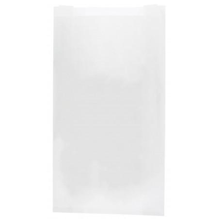 Papiertüten weiß 14+7x24cm (250 Stück)