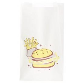"Burgerpapier ""Saky Food"" 14+7x24cm (250 Stück)"