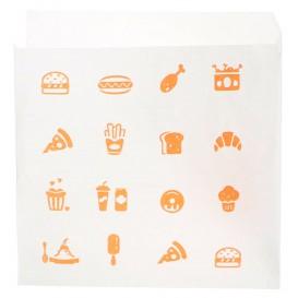 """Burgerpapier """"Saky Food"""" offen 2S 15x15cm (3.000 Stück)"""