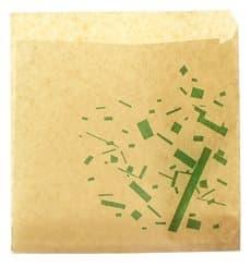 Burgerpapier fettdicht offen 2S Kraft 15x15cm (250 Stück)