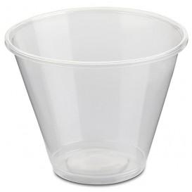 Dessertbecher für Eis Plastik Trans. 280ml Ø9,4cm (50 Stück)