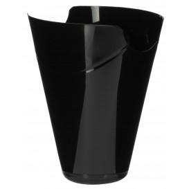 "Plastikbehälter ""Click-Clack"" PP Schwarz 80ml (20 Stück)"