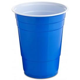 Plastikbecher Blau 550ml (25 Stück)