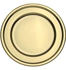 Platzteller rund Gold 30cm (5 Stück)