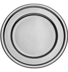 Platzteller rund Silber 30cm (5 Stück)