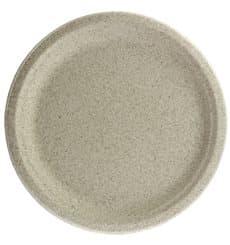Teller Weizenkleie Bio Ø26cm (800 Stück)