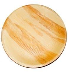 Palmblatt Teller Rund Ø12,5x2cm (25 Stück)