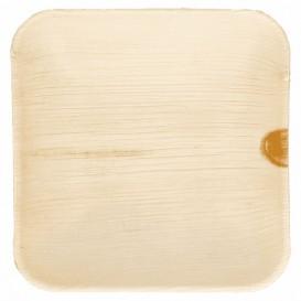 """Palmblatt Teller """"Mini"""" 11,5x11,5x1,5cm (25 Stück)"""