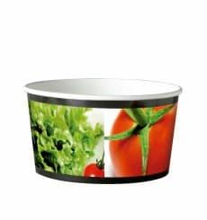 Salatbox mit Sichtfenster 11x10x5,5cm 400ml (500 Einheiten)