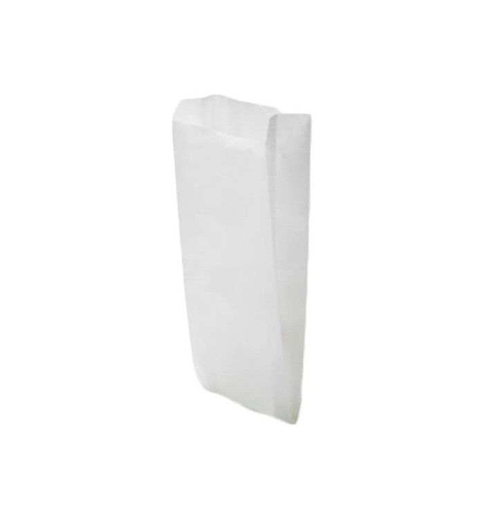 Papiertüten weiß 18+7x32cm (250 Stück)