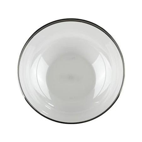 Weiße Schüssel FOAM 500ml (Karton 600 Einheiten)