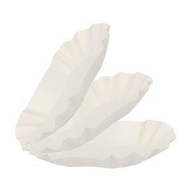 Pommesschalen Oval aus Pappe 16,5x10x3,5cm (250 Stück)