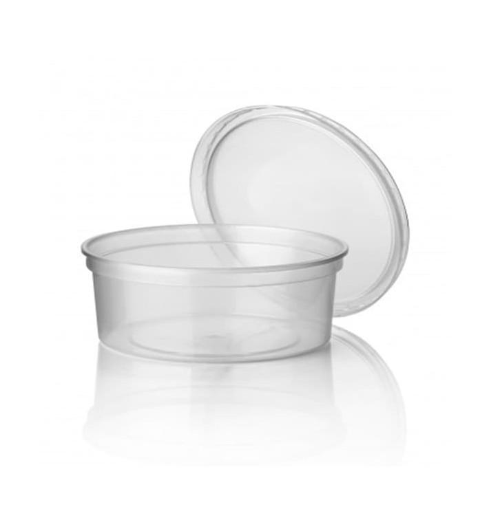 Verpackungsbecher aus Plastik 350ml (500 Stück)