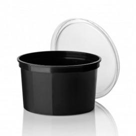 Verpackungsbecher aus Plastik 500ml  Ø11,5cm (500 Stück)
