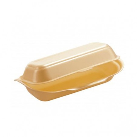 Caja Hot Dog FOAM (Paquete 125 unidades)