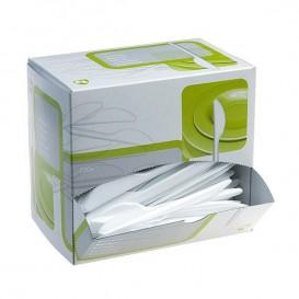 Besteckspender Plastikmesser 175mm weiß (1.500 Einheiten)