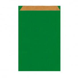 Papierumschlag Kraft Grün 12+5x18cm (1500 Stück)