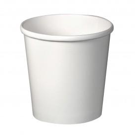 Pappbecher Weiß 16Oz/473ml Ø9,8cm (500 Stück)