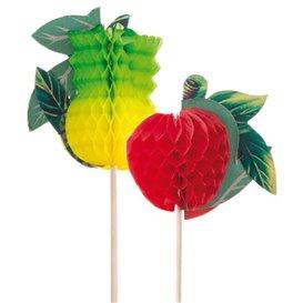 Deko-Picker Frucht 20 cm (100 Stück)