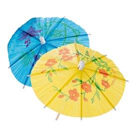 Deko-Picker Schirmchen 15 cm (100 Stück)