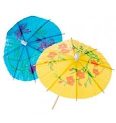Deko-Picker Schirmchen 15 cm (100 Einheiten)