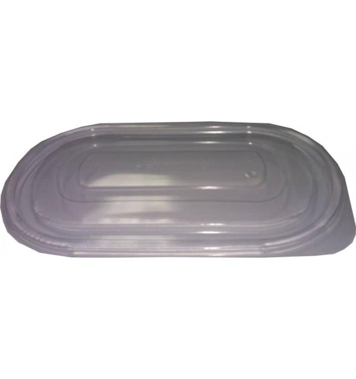 Deckel für Plastikbehälter rechteckig schwarz 1.000ml (400 Stück)