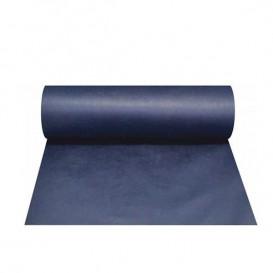 """Tischläufer """"Novotex"""" 0,4x48m Blau (1 Stück)"""